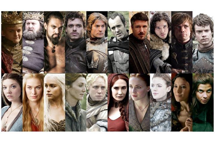 Personagens errados de Game of Thrones
