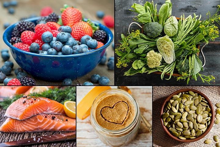 20 alimentos saudáveis para comer durante a gravidez