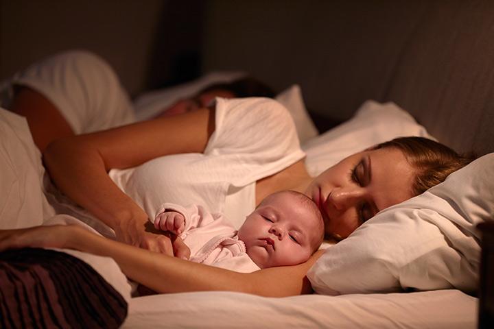 10 coisas que as mães devem saber sobre dividir a cama