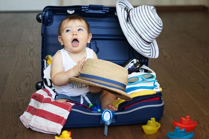 23 dicas para viajar com um bebê