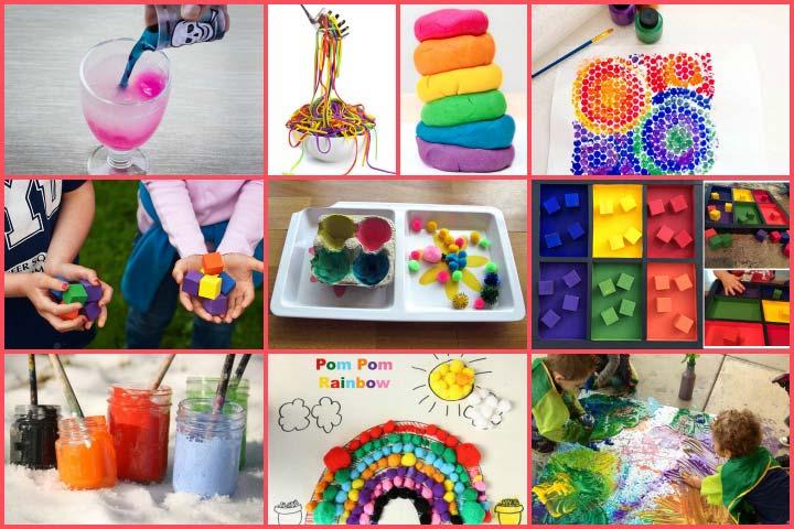 Atividades de colorir para crianças em idade pré-escolar