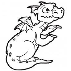 O bebê dragão