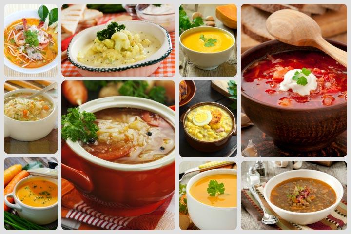 Receitas de sopa grossa