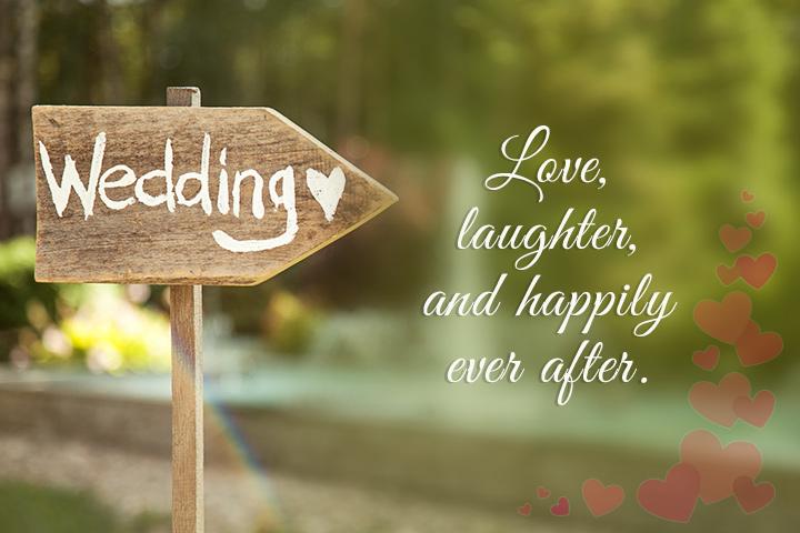Datas de casamento que fazem seu coração derreter!