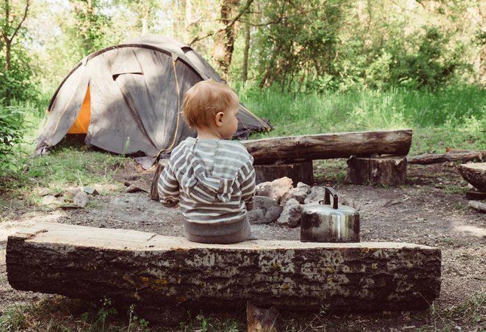 12 dicas úteis para acampar com o bebê