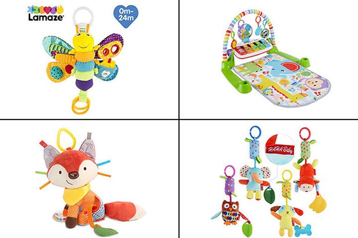 13 melhores brinquedos para bebês de um mês em 2020