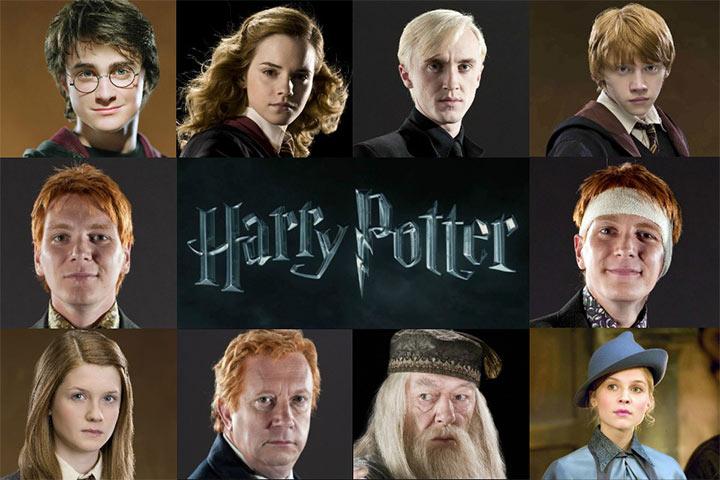 Nomes de bebê de Harry Potter