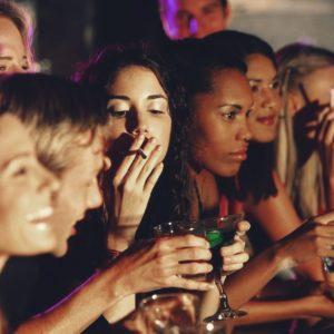 É seguro ser um fumante social?