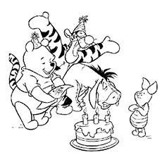 Desenhos de Winnie The Pooh para colorir