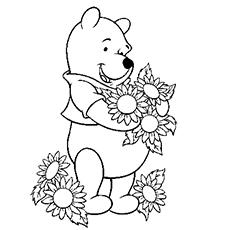 Desenhos para colorir Pooh