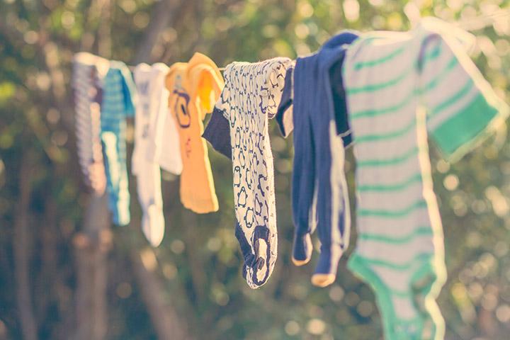 Secagem de roupas