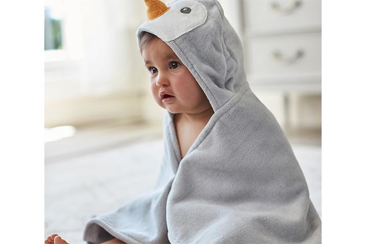 Toalhas de bichinho de crochê para crianças