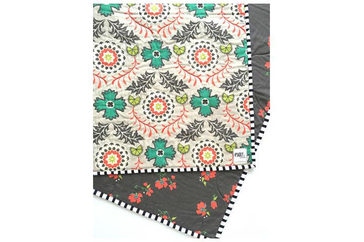 Madly Wish Boho é o novo cobertor acolchoado preto