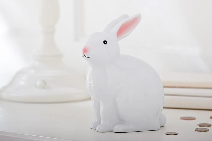 Jenni Kayne para crianças Pottery Barn Kids Bunny Bank