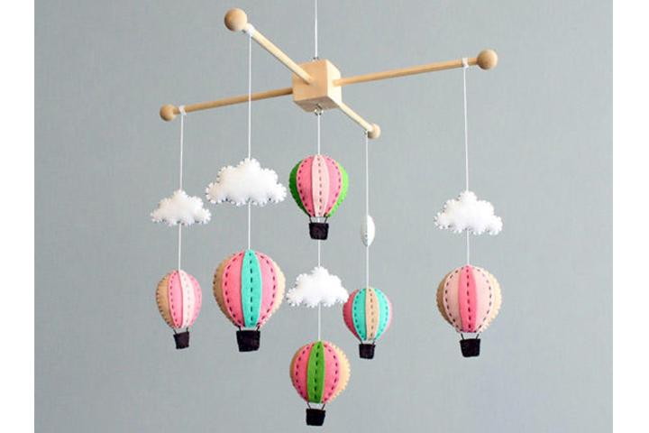 Kit Bebê Móvel com Balão de Botão