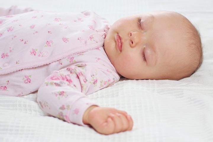 O bebê dorme e SIDS