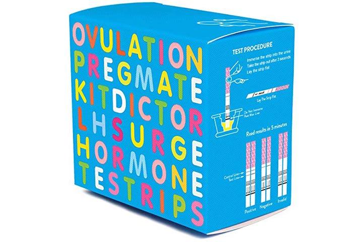 8.-Pregmate-50-Teste de ovulação-Tiras-LH-Surge-Predictor-OPK-Kit- (50-LH)