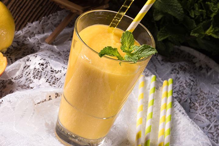 Suco ou suco de manga