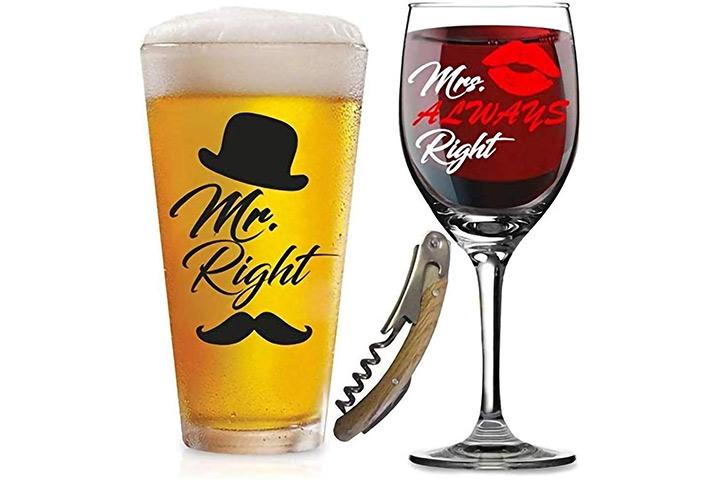 Direito e Sra. Sempre corrija os óculos