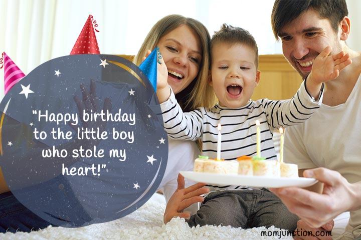 Desejos de aniversário para o filho mãe