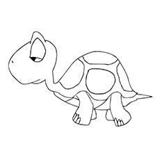 Turtle Sleepy Coloring grátis