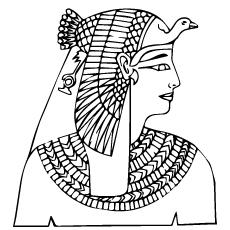 coroas egípcias