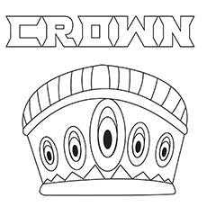 Desenhos de Crown-16 para colorir