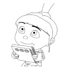Desenhos de Agnes para colorir