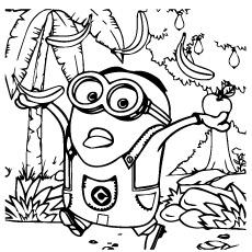 Meu favorito vilão cor imprimível Minion