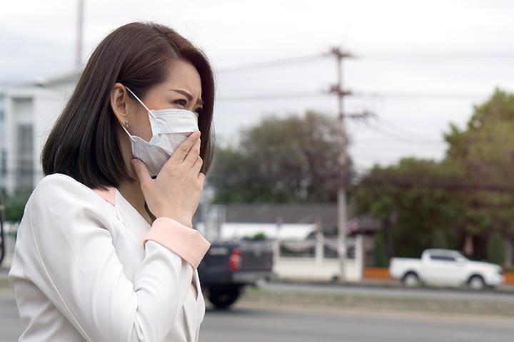 Efeitos da poluição do ar