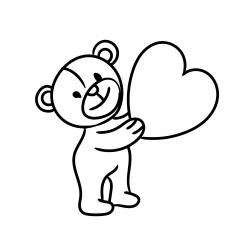 Dia dos namorados dos desenhos animados
