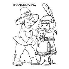 Peregrinos e nativos americanos