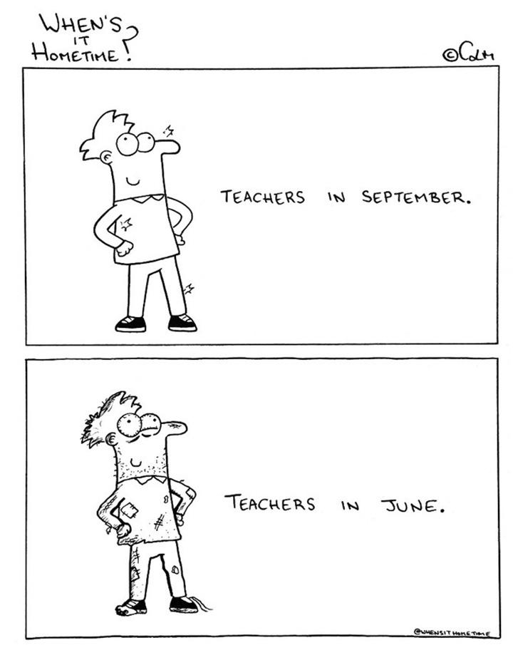 As muitas etapas da vida de um professor ...