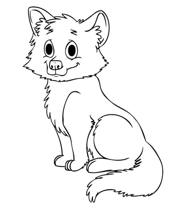 Ícone de páginas para colorir lobo