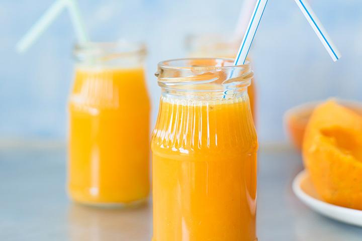 Sorvete de laranja