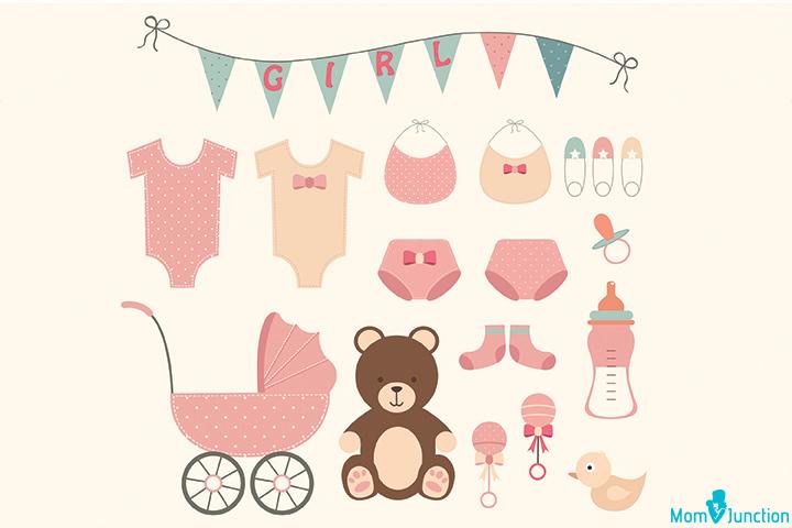 Vestido pequeno banner para chá de bebê