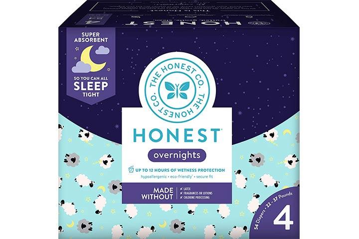 7. Honestas fraldas para bebês durante a noite