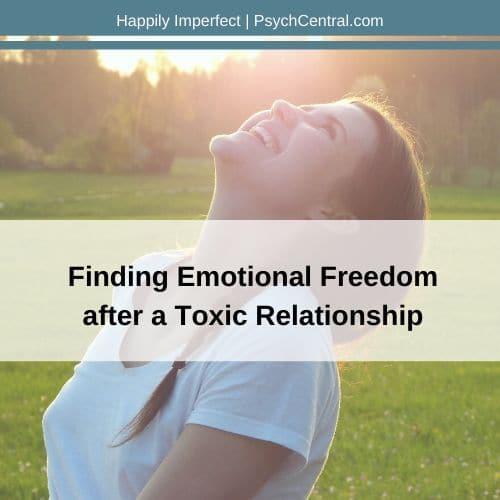 Encontrar liberdade emocional após um relacionamento tóxico