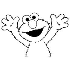 Desenhos de Elmo para colorir