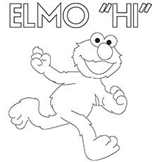 Elmo diz