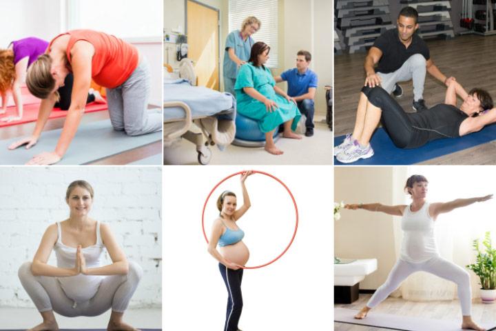 técnicas para mudar a posição fetal e alívio para o trabalho de volta