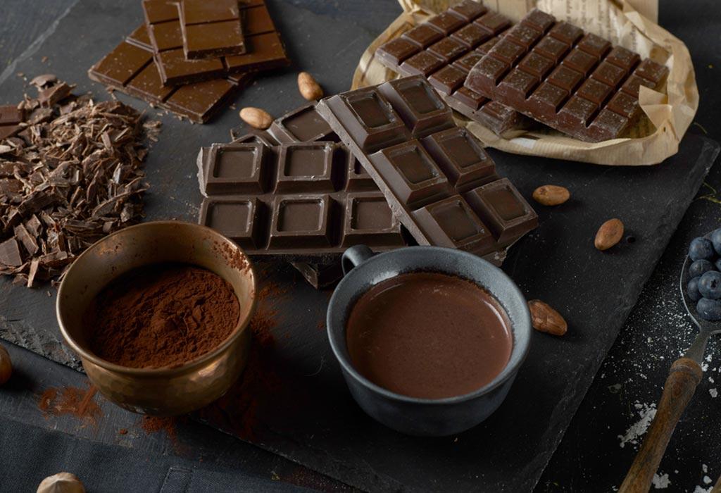 """Comer chocolates durante a amamentação """"width ="""" 1024 """"height ="""" 700"""