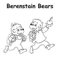 A-Berenstain-Ursos-maçã