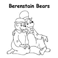 Mamãe-urso-e-papai-urso-sentado