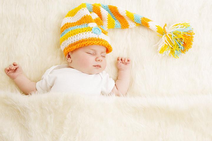 Bonés de bebê recém-nascido