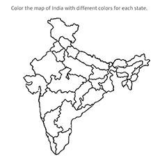 Os estados da Índia