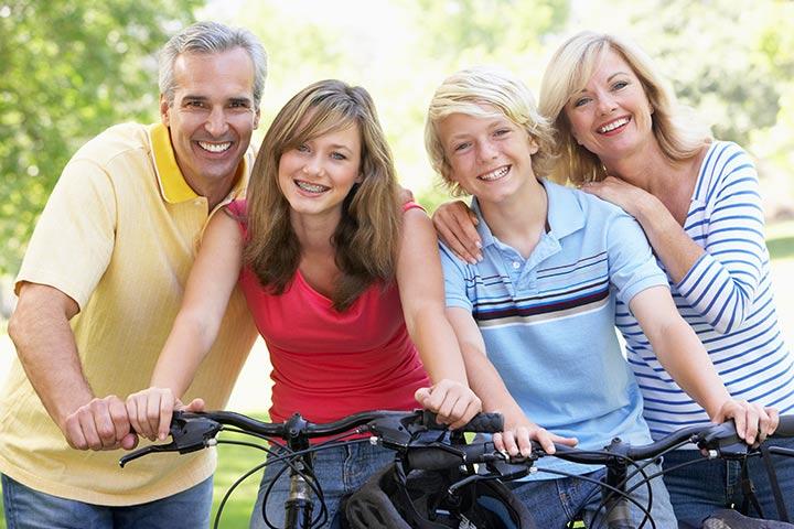 Benefícios dos pais positivos para os adolescentes