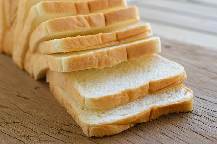 5. pão branco