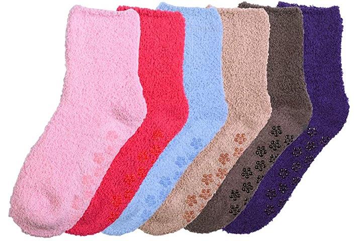 Mamia 6 pares de chinelos confortáveis para mulheres