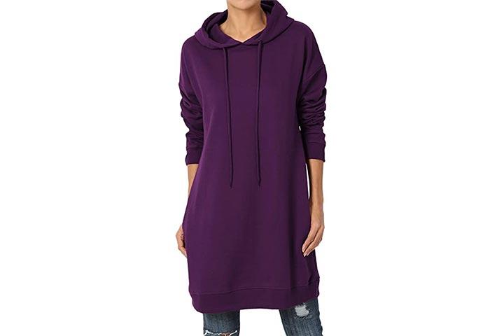 Hoodie longo da túnica de TheMogan